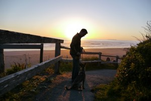 The sunset at Kalaloch.
